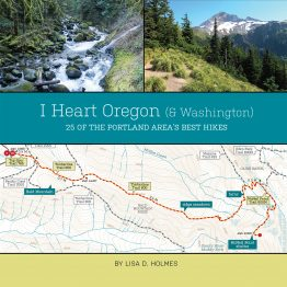 I Heart Oregon (& Washington) hiking book