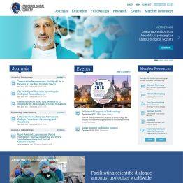 Endourology Society - website design
