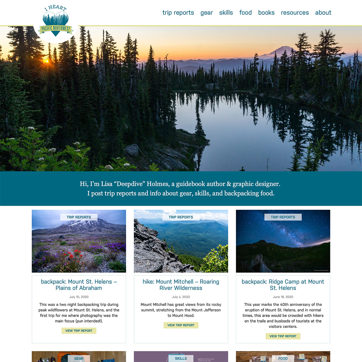 I Heart Pacific Northwest website