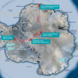 Rizzoli Publishing - Antarctica map detail