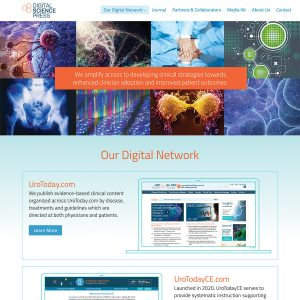 Digital Science Press website
